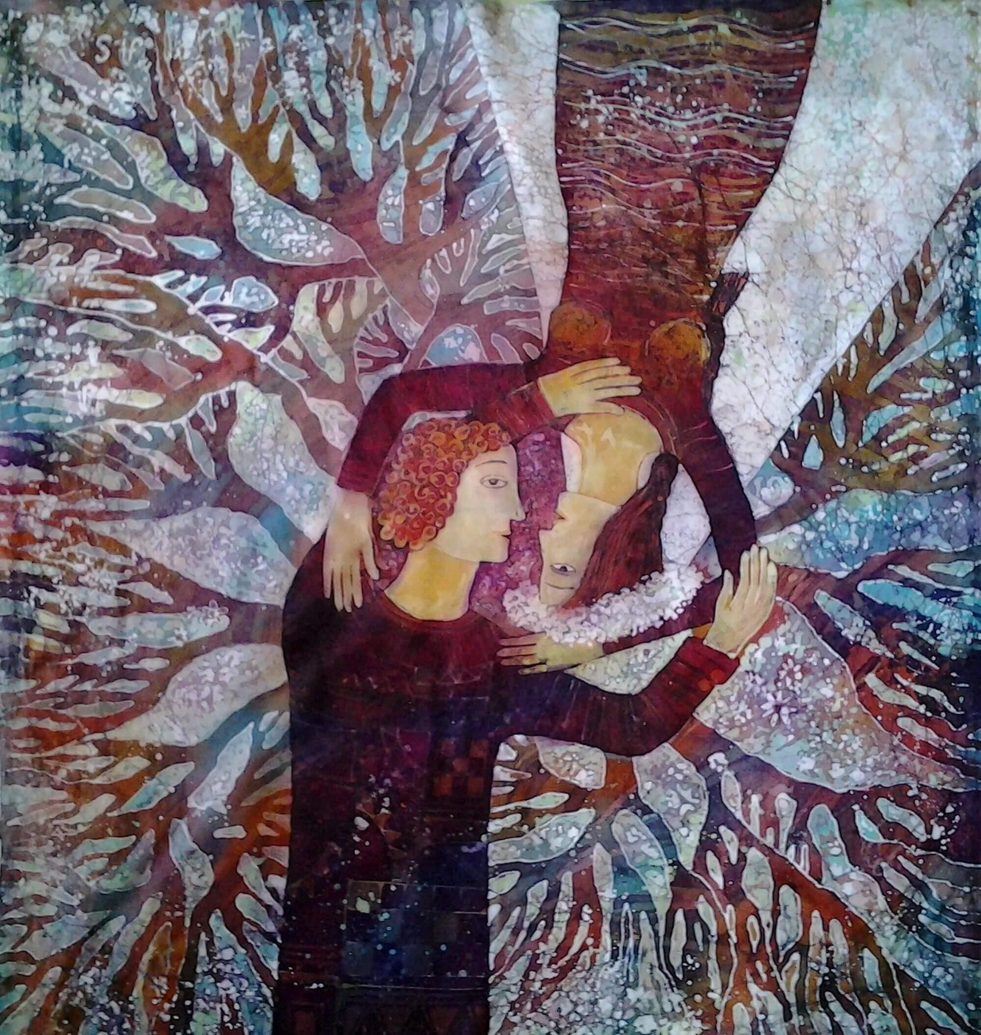 wall-panels - Loving-couple110х1102015